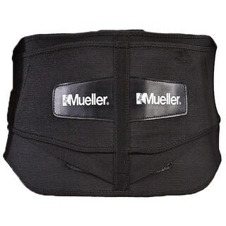 Mueller Plus Size Adjustable Back Brace w/Lumbar Pad - Black - xL