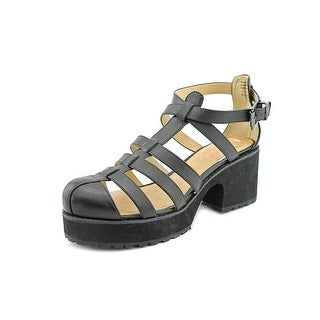 Shellys London Kaplow Women Open Toe Leather Platform Sandal