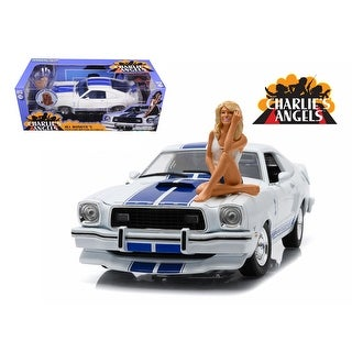 1976 Mustang Cobra II Farrah Fawcett Charlies Angels 1/18 by Greenlight 12880-B