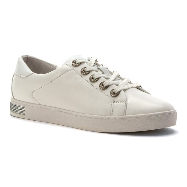 MICHAEL Michael Kors Womens halle Low Top Lace Up Fashion Sneakers