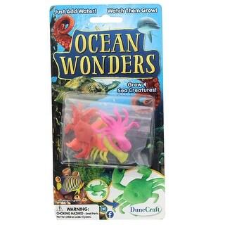 Ocean Wonders Grow 4 Sea Creatures Pack - multi