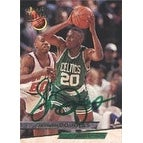 Sherman Douglas Boston Celtics 1993 Fleer Ultra Autographed Card This item comes with a certificate of authenticity f
