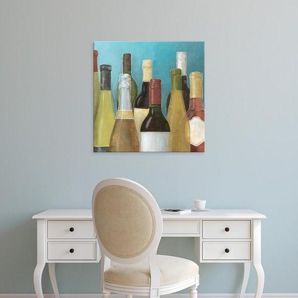 Easy Art Prints Megan Meagher's 'Wine Bottles II' Premium Canvas Art