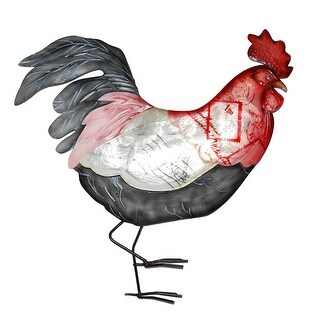 Link to Rooster Wall Decor Red White And Blue - 1 x 14 x 14 Similar Items in Accent Pieces