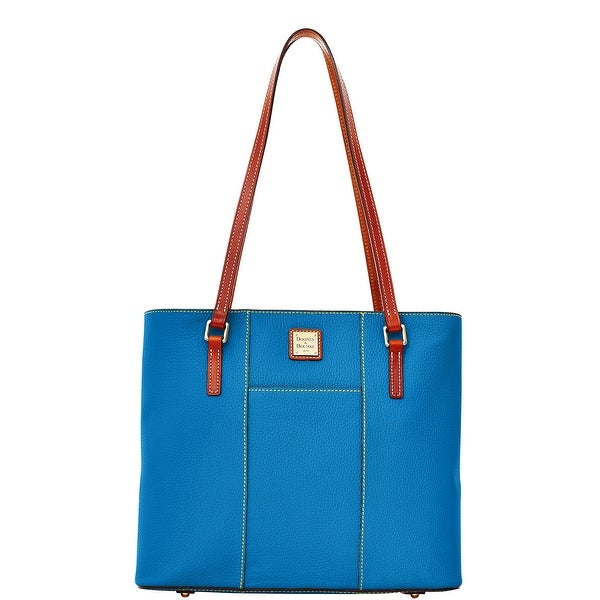 Dooney & Bourke Pebble Grain Lexington (Introduced by Dooney & Bourke at $228 in Nov 2015) - Blue