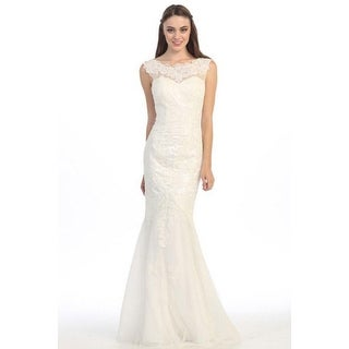 Lace Bateau Neck Sheath