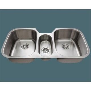 Polaris p1254-18 18 Gague Triple Bowl Stainless Steel