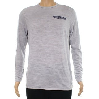 Tommy Bahama Heather Gray Mens Size Small S Graphic Tee T-Shirt