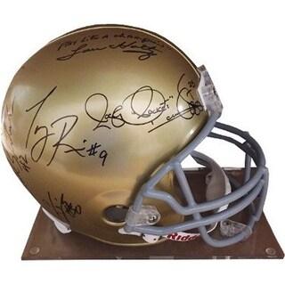 CTBL-021722 Lou Holtz Signed 1988 Notre Dame National Champs FS Rep