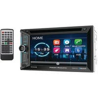 """POWER ACOUSTIK PD-623B 6.2"""" Incite Double-DIN In-Dash DVD Receiver with Bluetooth(R)"""
