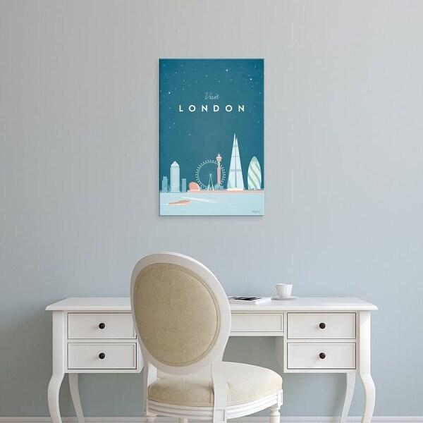 Easy Art Prints Henry Rivers's 'London' Premium Canvas Art