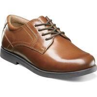 Florsheim Boys' Midtown Plain Oxford, Jr. Cognac Leather