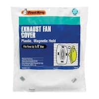 """Frost King EC108 Exhaust Fan Cover, 8"""""""