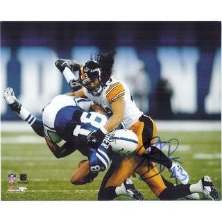 Signed Polamalu Troy Pittsburgh Steelers 8x10 Photo autographed