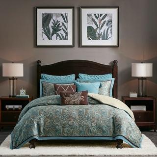 Hampton Hill Lauren Blue Comforter Set