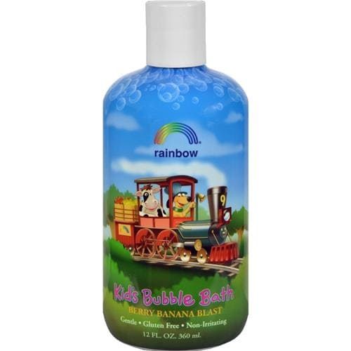 Rainbow Research - Kids Organic Herbal Bubble Bath Berry Banana Blast ( 3 - 12 FZ)