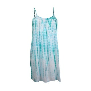 Raviya Women's Lattice Back Tye Dye Cover Up
