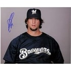 Signed Turnbow Derrick Milwaukee Brewers 8x10 Photo autographed