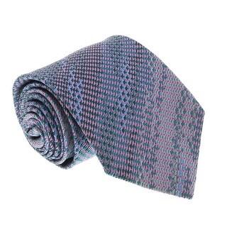 Missoni U4762 Blue/Pink Grenadine 100% Silk Ties - 60-3