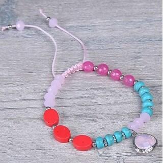 Mad Style Pink Fiji Bracelet