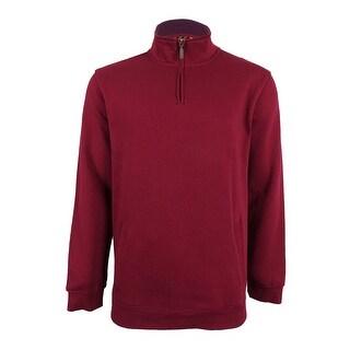 Club Room Men's Quarter Zip Sweatshirt