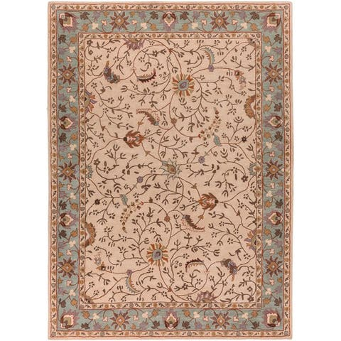 Toby Hand Tufted Traditional Area Rug