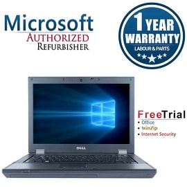 "Refurbished Dell Latitude E5410 14.1"" Laptop Intel Core i5 520M 2.4G 4G DDR3 160G DVD Win 10 Pro 1 Year Warranty"