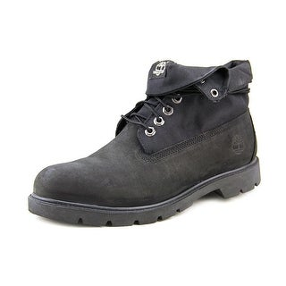 Timberland Basic Roll Top Men  Round Toe Leather  Hiking Boot