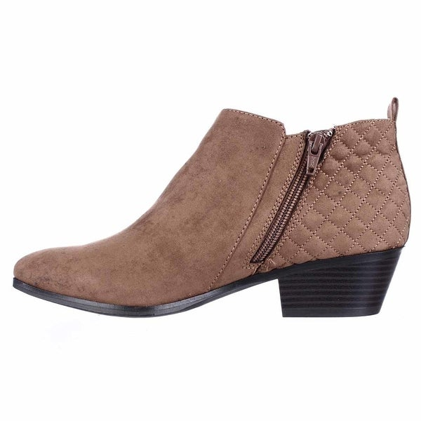 Style & Co. Womens Wessley Almond Toe Ankle Fashion Boots