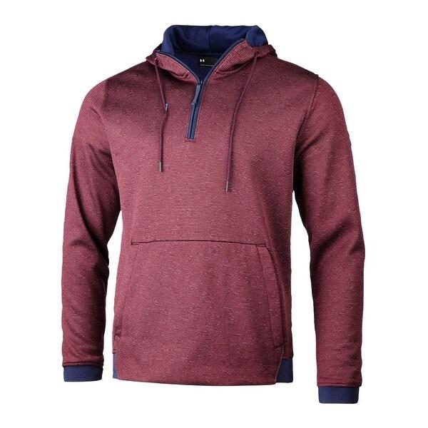 mens pink under armour hoodie