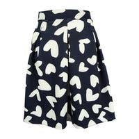 INC International Concepts Women's Heart Print Skirt - dancing hearts