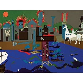 Romare Bearden, The Fall of Troy