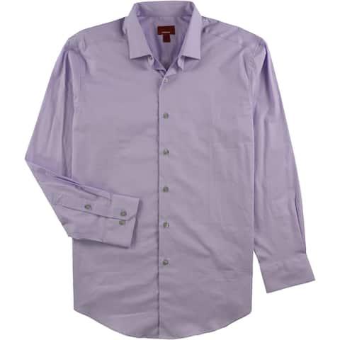 Alfani Mens Spectrum Slim Fit Button Up Dress Shirt