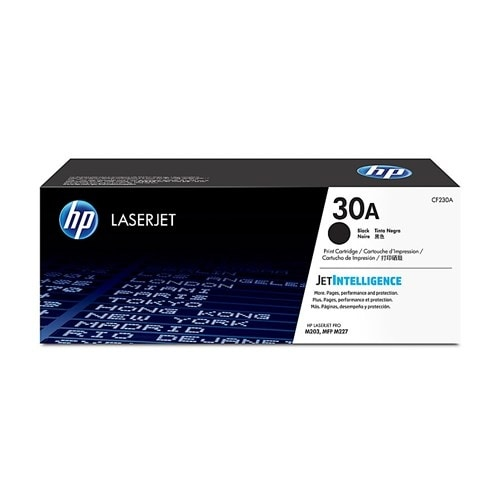 HP 30X High Yield Black Original LaserJet Toner Cartridge (CF230A)(Single Pack)
