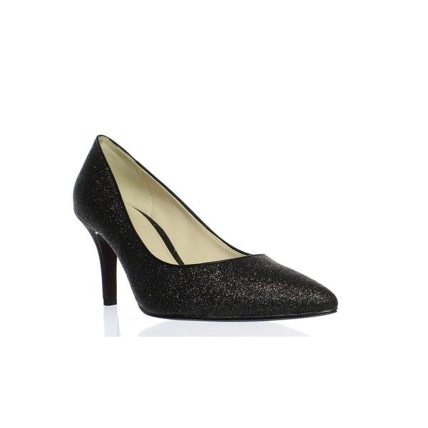 Shop Cole Haan Womens Juliana Black Glitter Pumps Size 9 Free