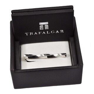 Trafalgar Twisted Tie Clip Silver