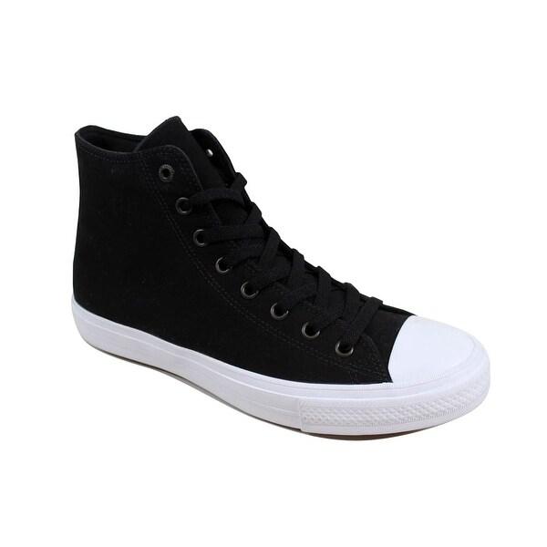 Converse Chuck Taylor All Star 2 II Hi Black White 150143c Mens Size 4 Womens 6