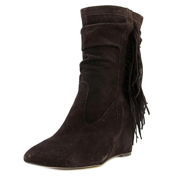 INC International Concepts Everleeh Women Dark Cocoa Boots