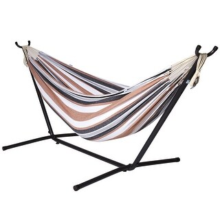 Ivation Camping Hammock with Stand - Double Hammock Swing - for Garden, Outdoor & Indoor (3 options available)