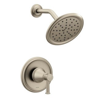 Moen T2312 Belfield Shower Trim Package with Single Function 2.5 GPM Shower Head and Posi-Temp Pressure-Balancing Valve (3 options available)