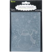 "Darice Embossing Folder 4.25""X5.75""-Snowman"