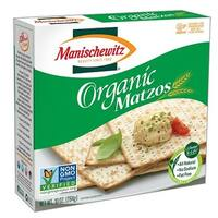 Manischewitz Organic Matzo - Case of 12 - 10 oz