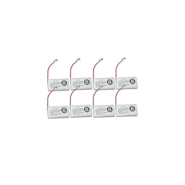 Replacement For Uniden BT1007 Cordless Phone Battery (600mAh, 2.4V, Ni-MH) - 8 Pack