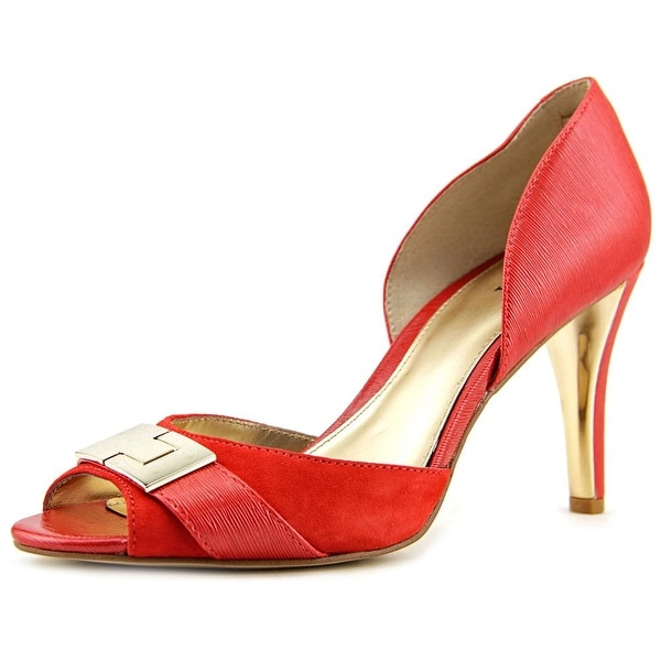 Alfani Leora Peep-Toe Synthetic Heels