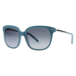 Chloe CE642/S 444 Aqua Wayfarer Sunglasses - 55-19-130