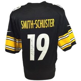 JuJu Smith-Schuster Signed Steelers Black Nike Game Replica Jersey JSA ITP