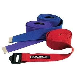 Aeromat 1-1/2 in x 8 ft Yoga Strap, Blue