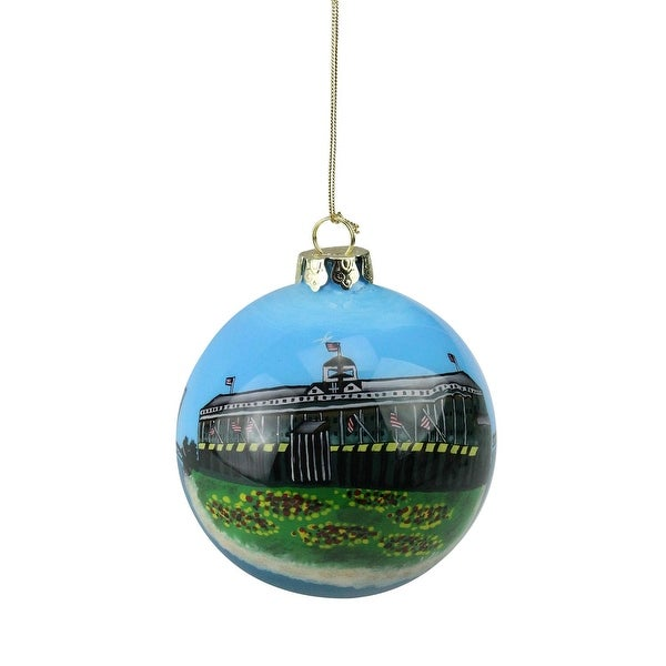 San Francisco Golden Gate Bridge & Lighthouse Christmas Ball Ornament #92165
