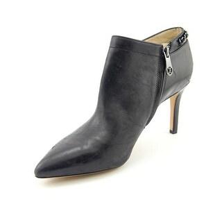 Carolinna Espinosa Banks Women Pointed Toe Leather Bootie