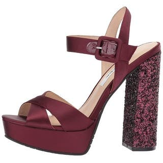 65dae4a53bf5 Buy Black Nina Women s Sandals Online at Overstock.com